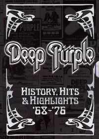 Cover Deep Purple - History, Hits & Highlights '68-76 [DVD]